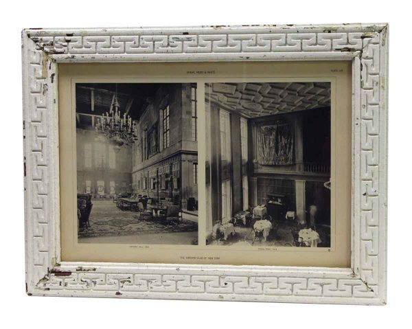 Framed Photo of The Harvard Club of New York