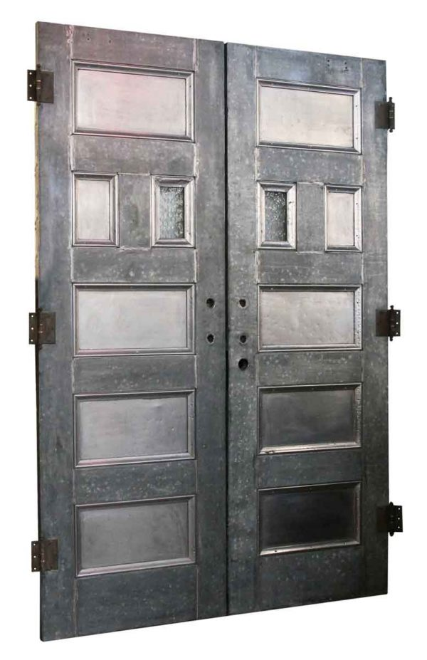 Pair of Antique Kalamein Doors
