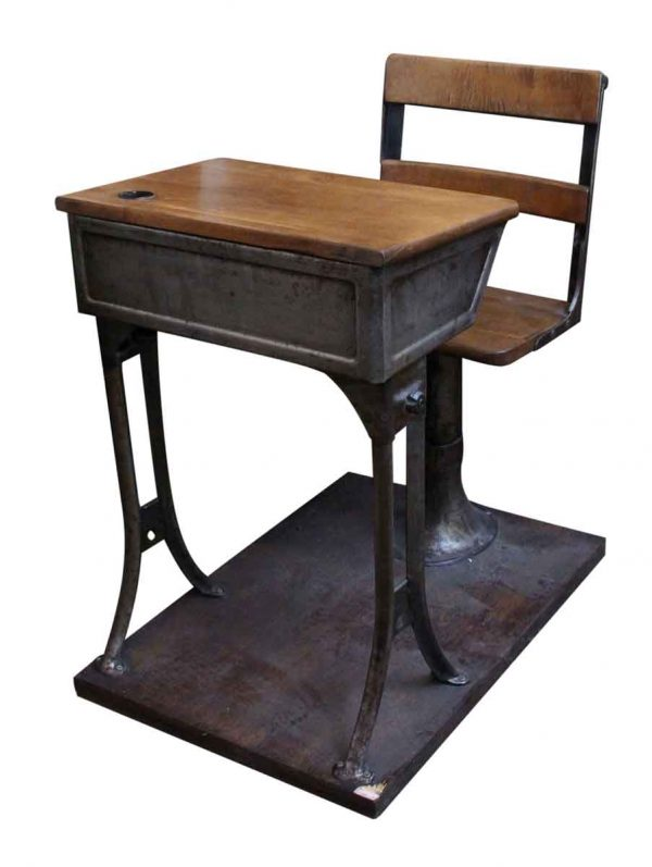 Antique Childrens School Desk