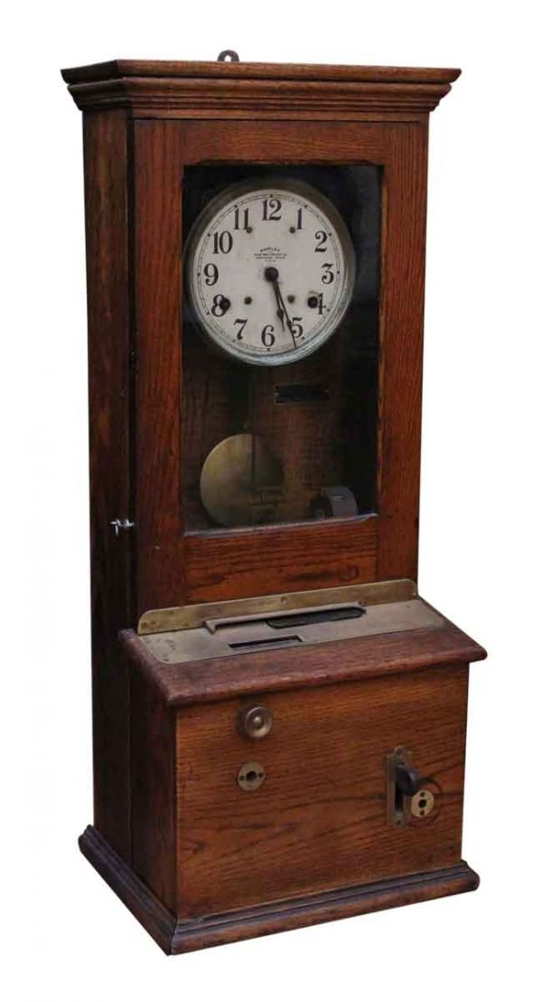 Antique Time Card Recorder