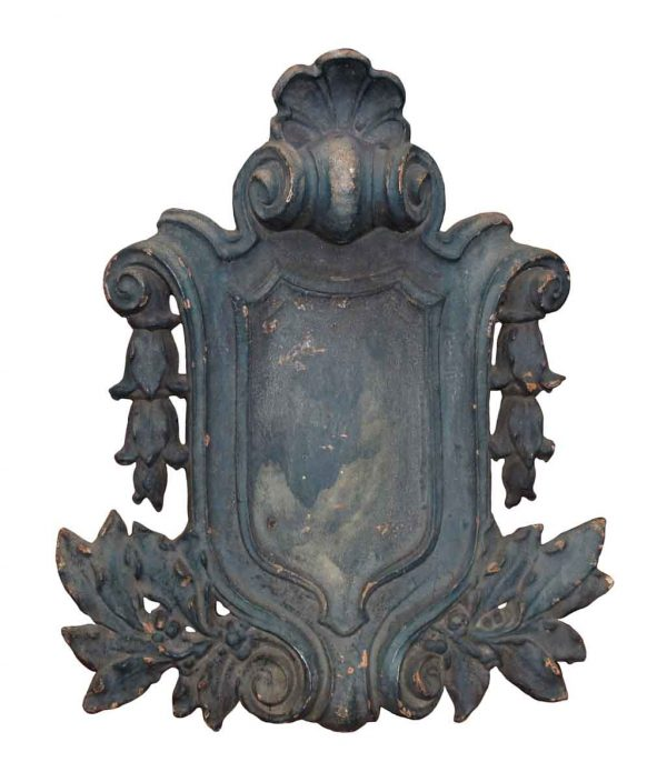Decorative Cast Iron Building Shield
