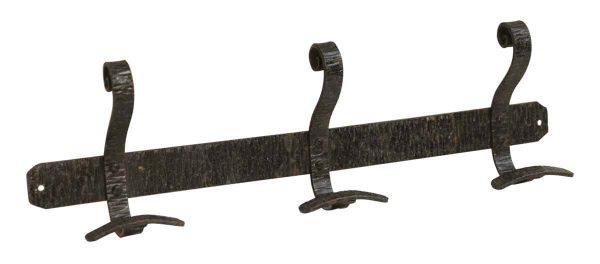 Wrought Iron Hook Rack - Coat Racks