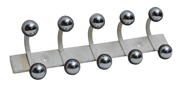 Mid Century Modern Five Hook Rack - Coat Racks