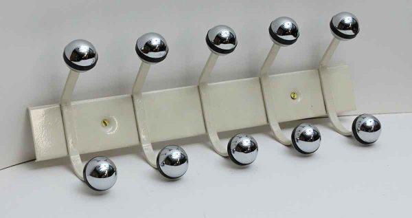 Mid Century Modern Rack with Five Hooks - Coat Racks