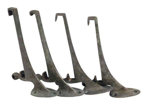Nickel Plated Brass Shelf Brackets - Shelf & Sign Brackets