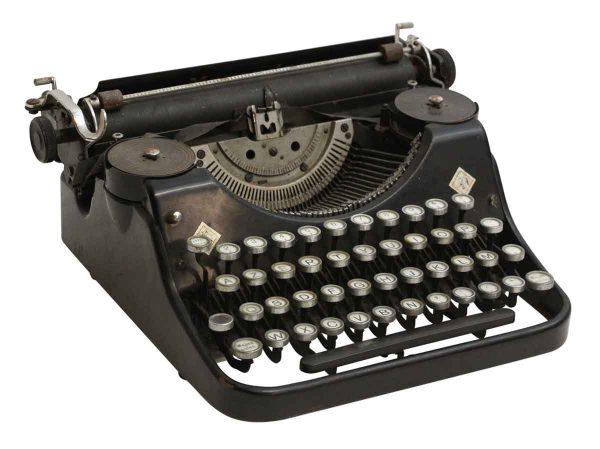 Portable Mercedes Typewriter - Typewriters