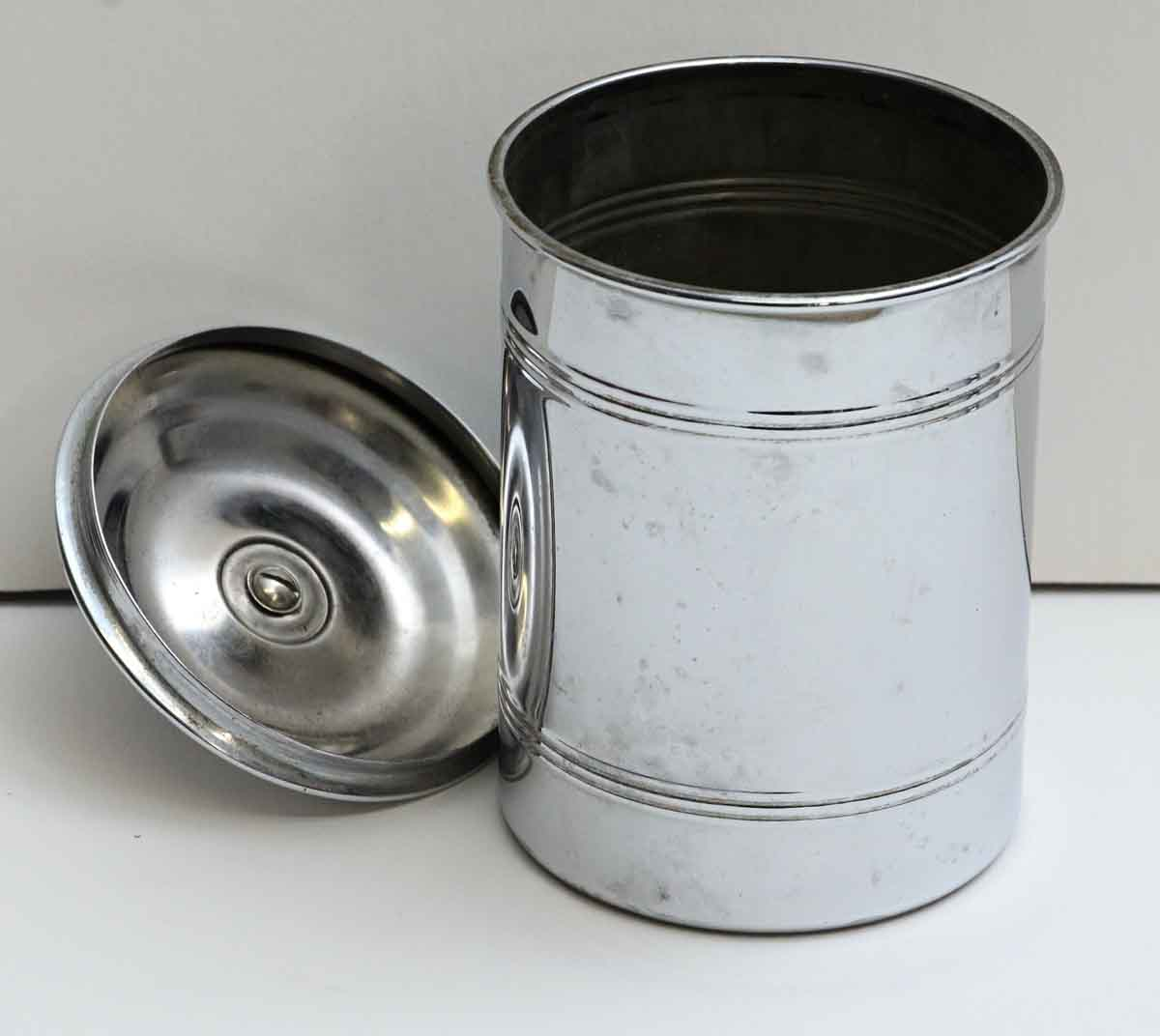 French Kitchen Canisters: Set Of Vintage French Kitchen Canisters