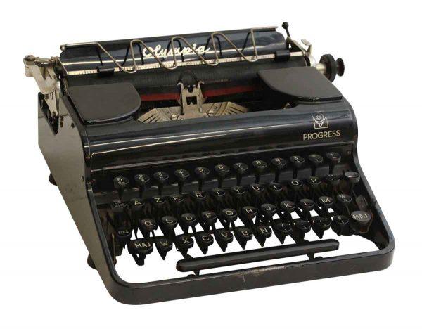 French Portable Typewriter - Typewriters