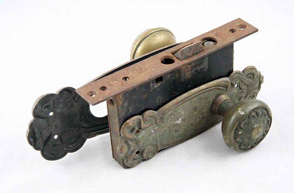 Art Nouveau Sargent Knob Set