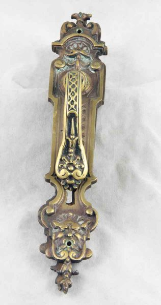 Decorative French Lever & Back Plate Set