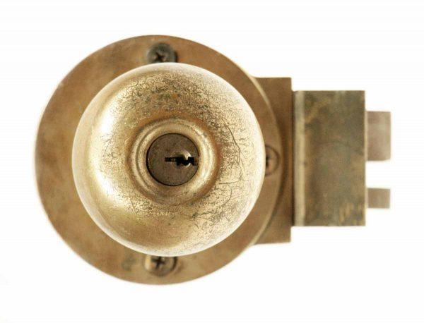 Vintage Copper Plated Unit Lock