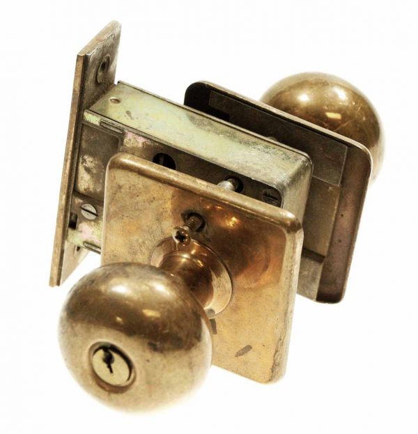 Sargent Copper Plated Unit Lock
