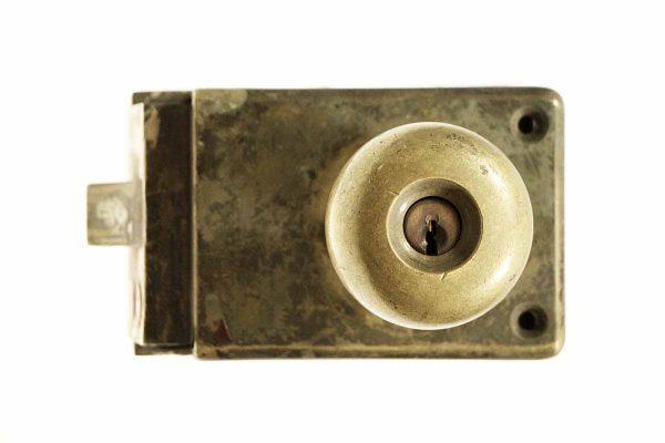 Original Cast Bronze Unit Lock