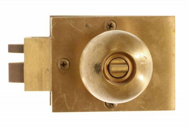 Corbin Copper Plated Unit Lock