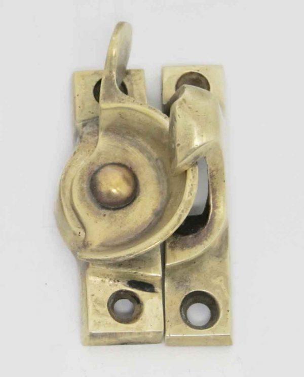 Antique Brass Window Sash Lock - Window Hardware