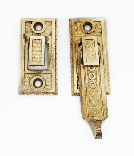 Antique Bronze Shutter Latch - Window Hardware