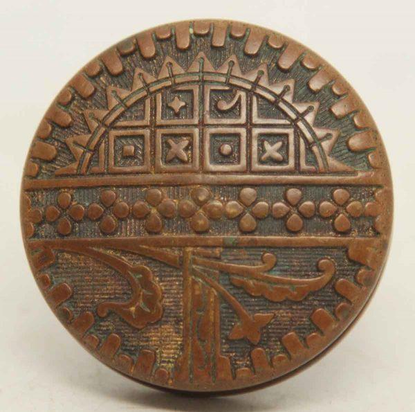 Small Decorative Collector's Quality Bronze Knob