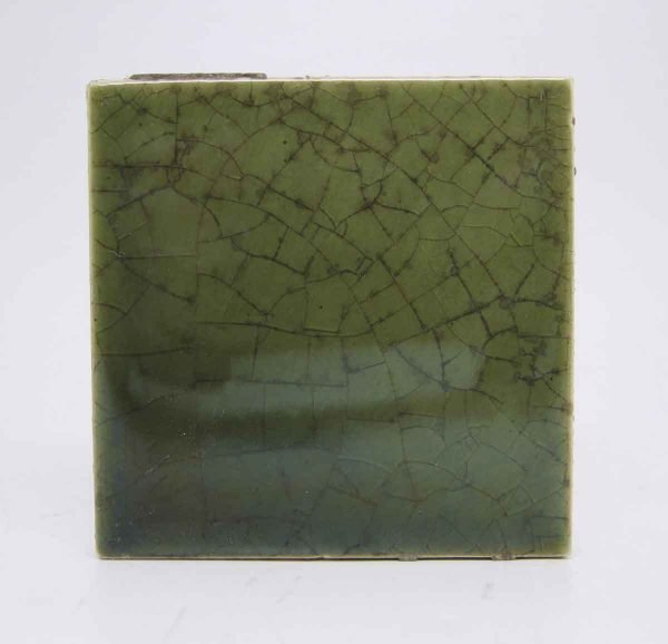 Olive Green Square Tile Lot - Wall Tiles