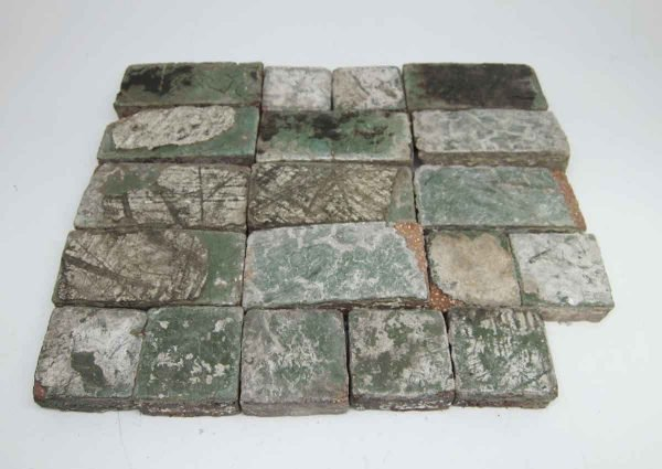 Set of Green Floor Tiles - Floor Tiles