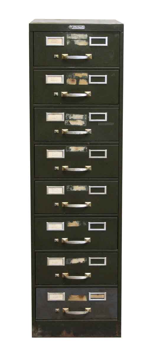 Steel Master Metal Card Cabinet - Office Furniture