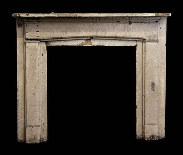 Slight Gothic Arch Wooden Mantel - Mantels