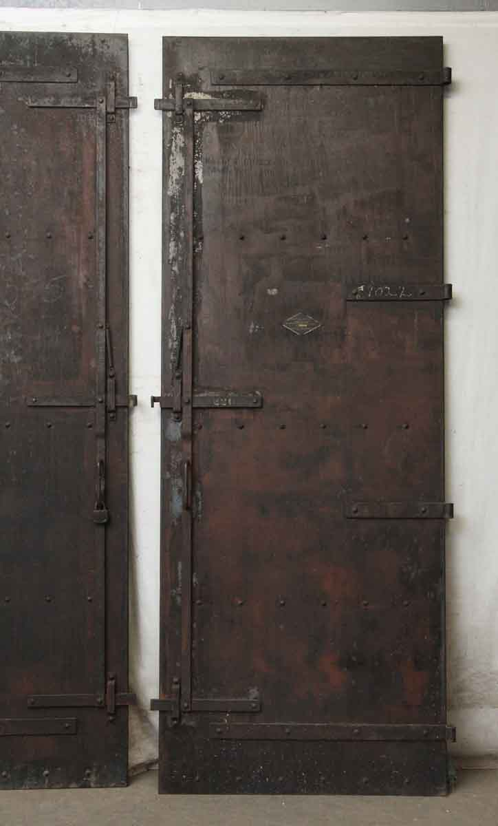 Salvaged Steel Fire Doors Olde Good Things