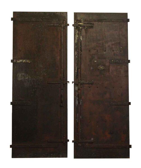 Salvaged Steel Fire Doors - Commercial Doors