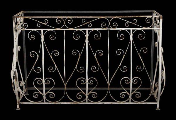 Wrought Iron Balcony Console