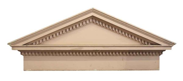 Vintage Wooden Pediment - Pediments