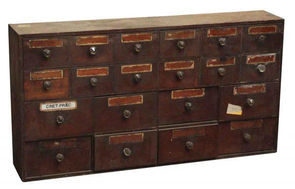 Olde Storage Parts Cabinet - Cabinets