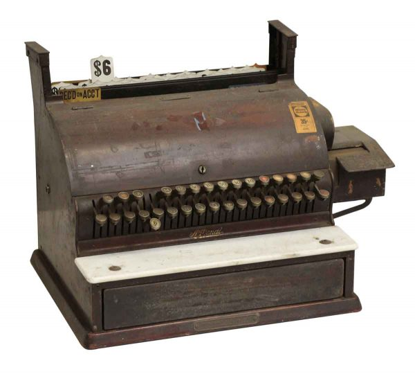 Antique Reclaimed National Cash Register - Cash Registers