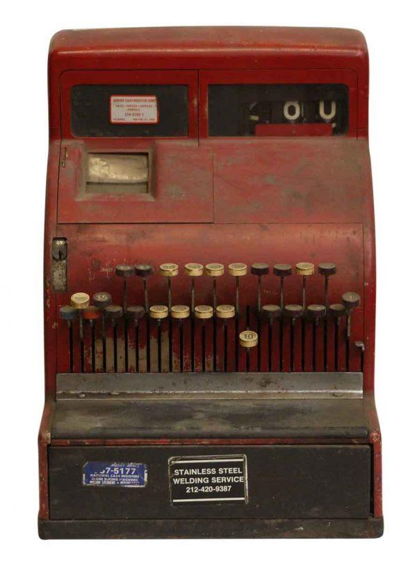 Red NCR Cash Register - Cash Registers