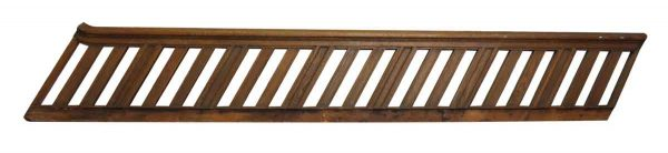 Arts & Crafts Wooden Stair Railing - Staircase Elements