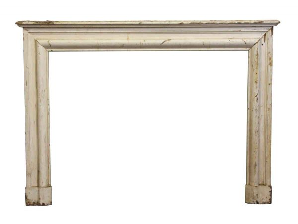 Wide Simple Wooden Bolection Mantel - Mantels