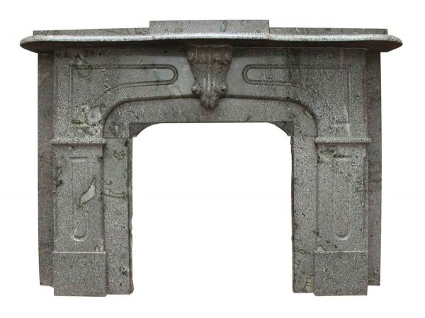 Gray Granite Mantel - Mantels
