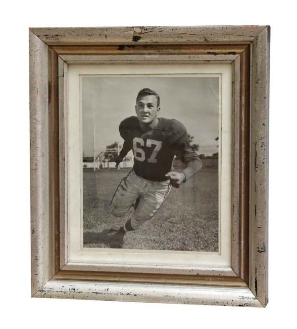 Framed 1950s Football Portrait - Photographs