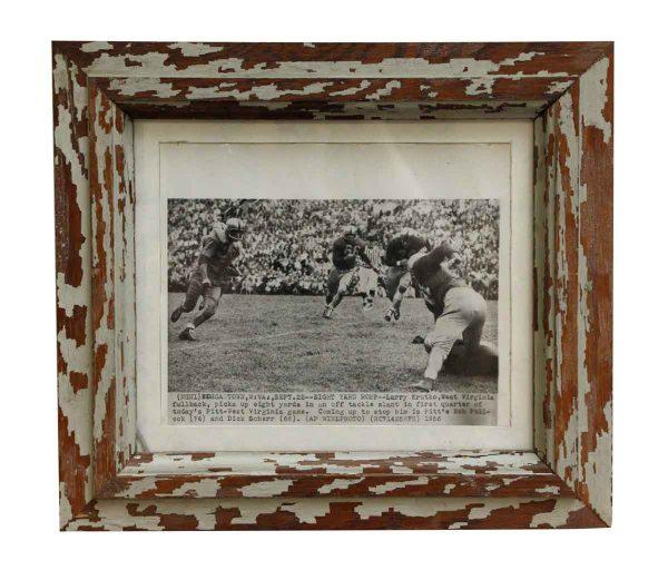 Vintage College Pitt & West Virginia Football Photo - Photographs
