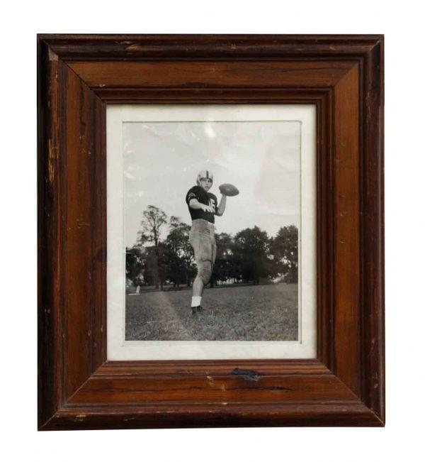 Vintage West Point Football Framed Portrait - Photographs