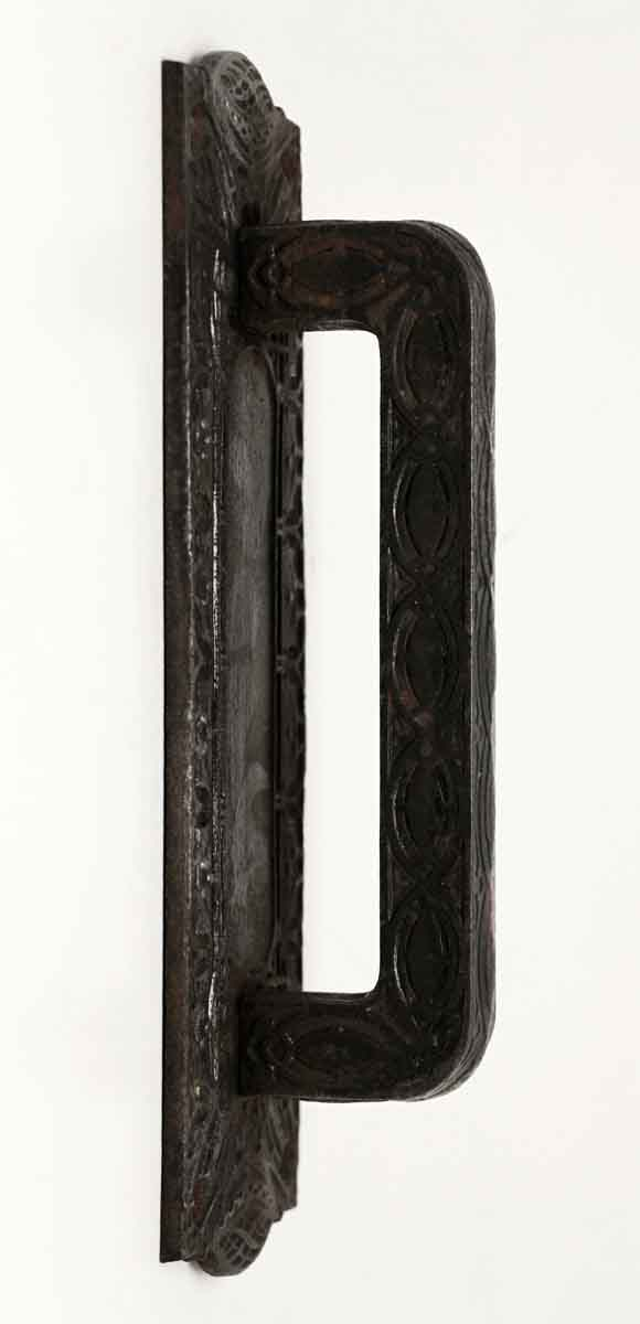 Original ornate cast iron pull olde good things