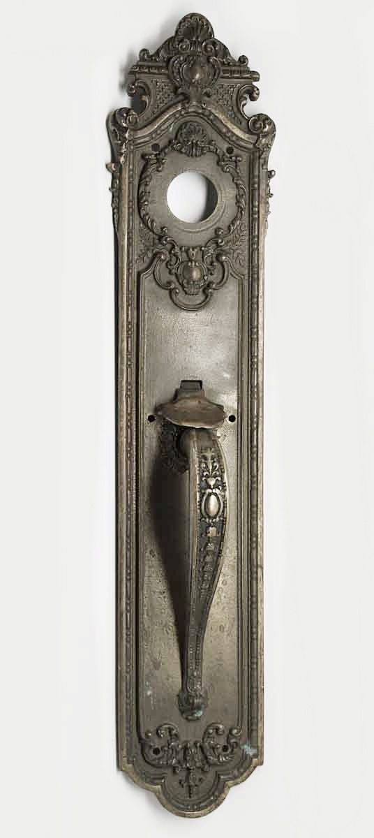 Sargent Ornate Pair of Long Door Pulls - Door Pulls
