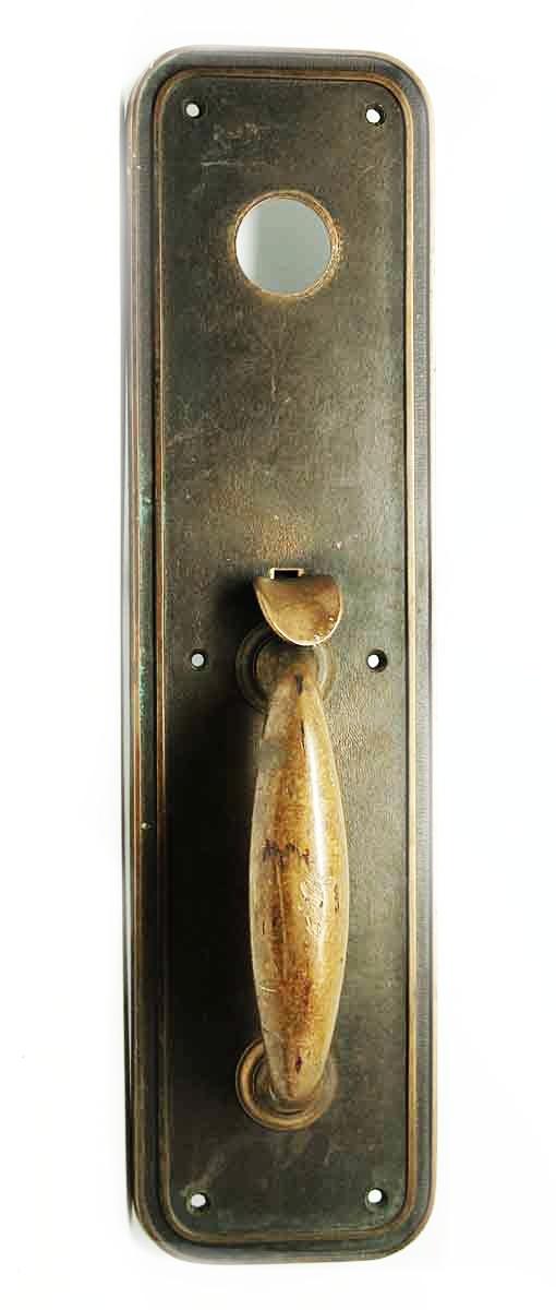Pair of Deco Bronze Pulls - Door Pulls