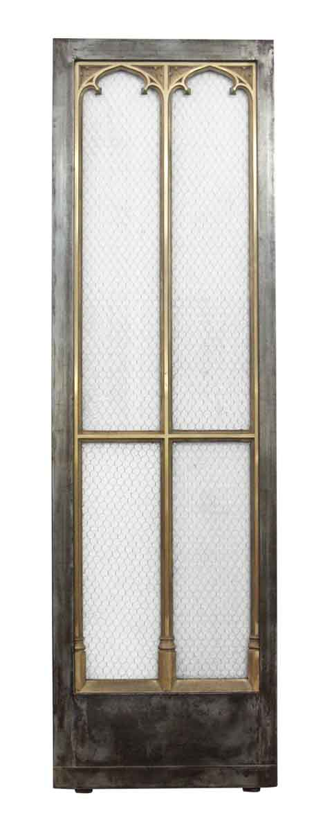 Bronze Gothic Doors with Chicken Wire Glass - Commercial Doors