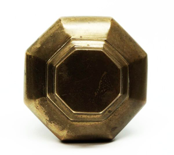 Single Polished Bronze Knob - Door Knobs