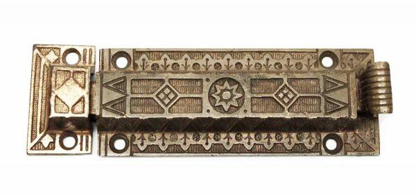 Single Bronze Aesthetic Latch - Door Locks