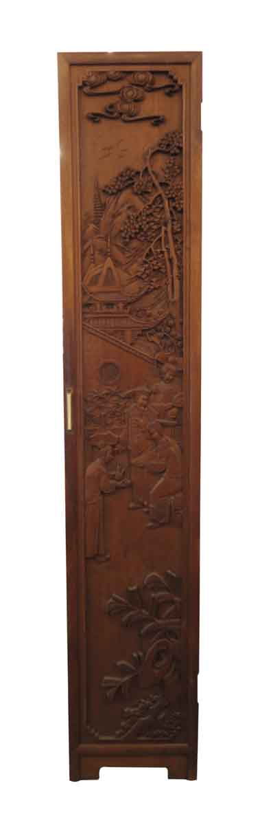 Chinese Hand Carved Wooden Room Divider - Unique Pieces