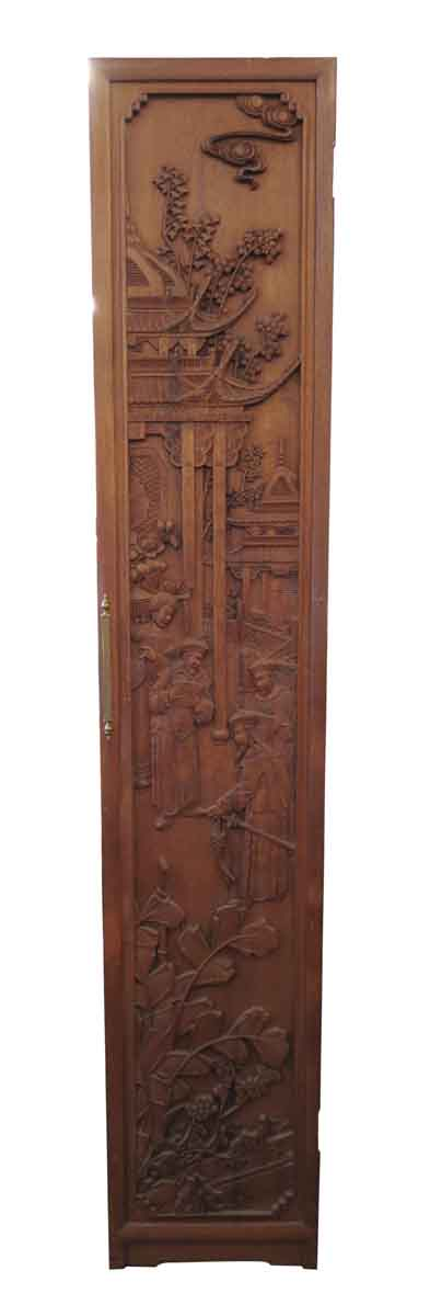 Oriental Hand Carved Room Divider - Unique Pieces