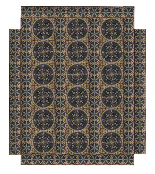 Encaustic Trent Milton Stroke Tile Floor - Floor Tiles