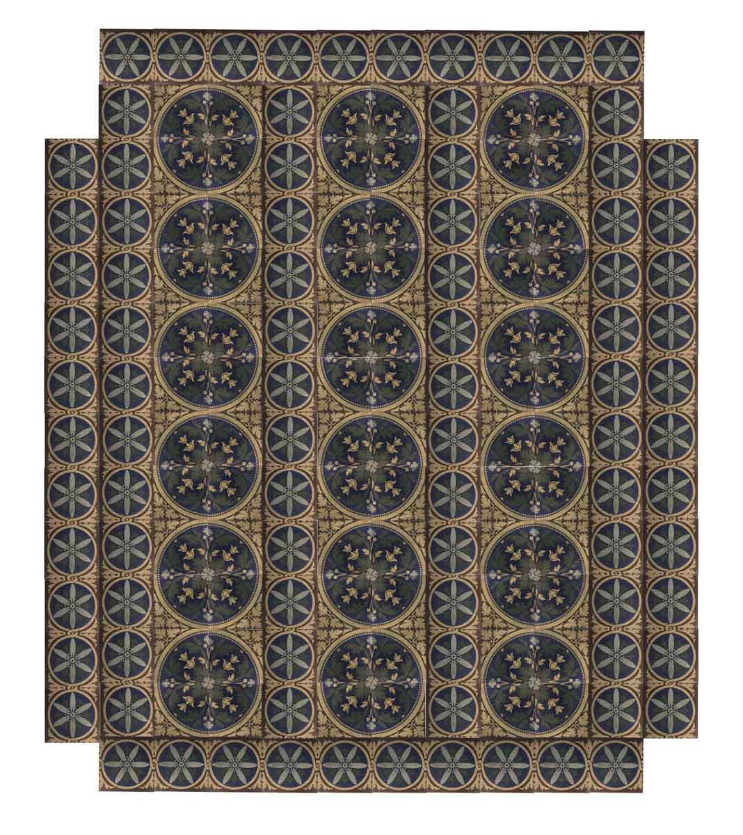 Encaustic Minton Stoke Upon Trent Tile Floor Olde Good Things