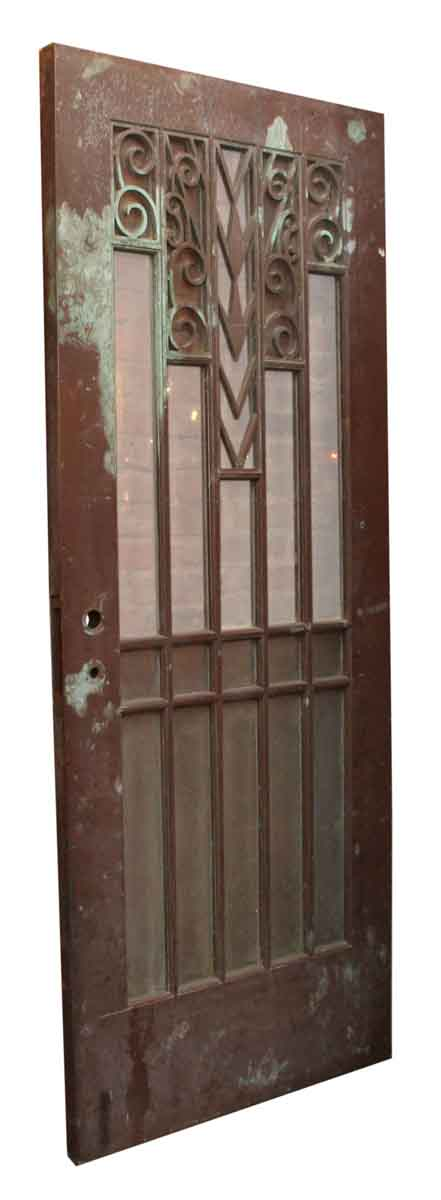 Art Deco Bronze & Glass Door - Specialty Doors