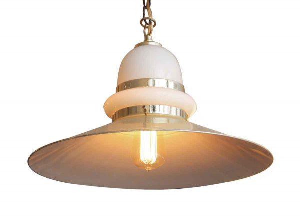 Modern Glass Light Fixture - Down Lights